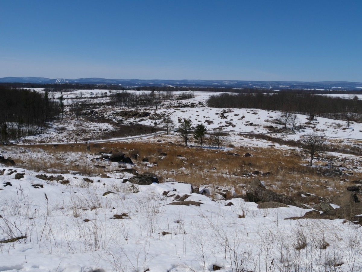 The view from Big Round Top