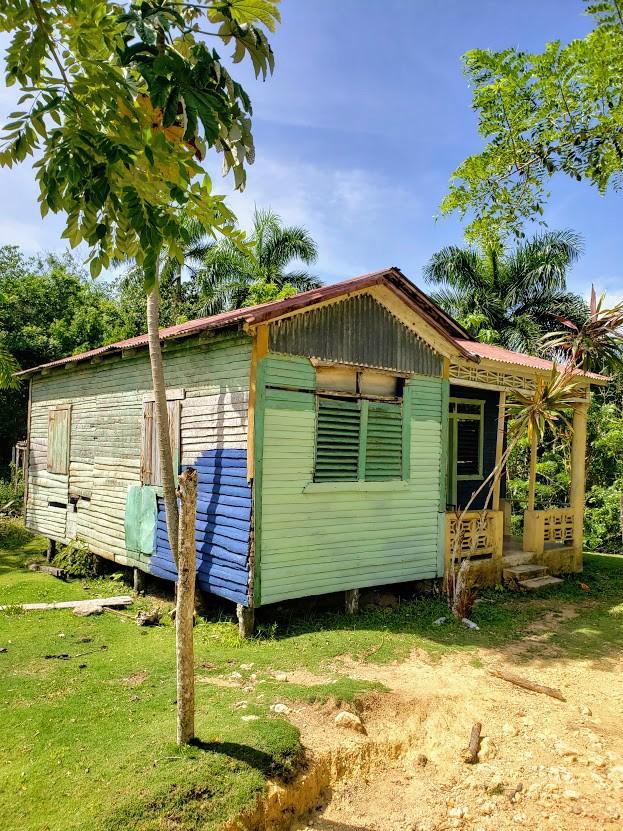 Typical Caribbean hut