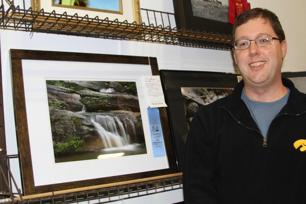 Waterfall - Blue Ribbon Winner- Steven White