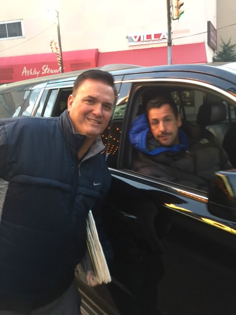 TONY with ADAM SANDLER
