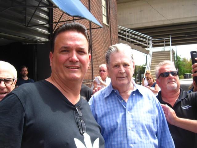 Tony with Brian Wilson