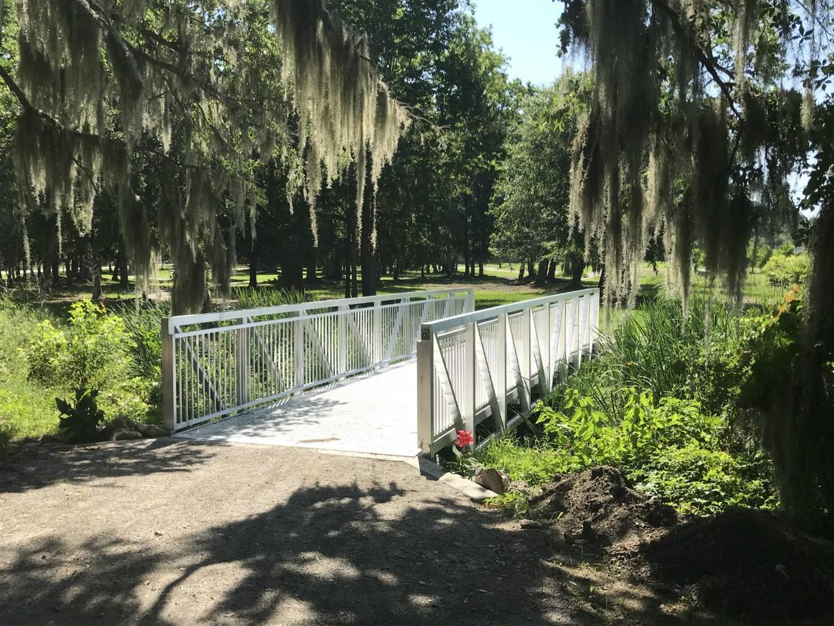 Southside Park, Beaufort, South Carolina Prefabricated Aluminum Bridge