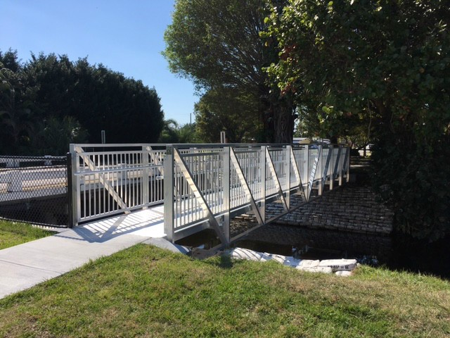 Pedestrian Bridge for Davis Canal