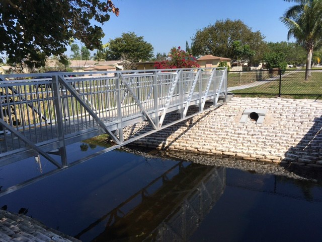 Trail Bridge for Davis Canal