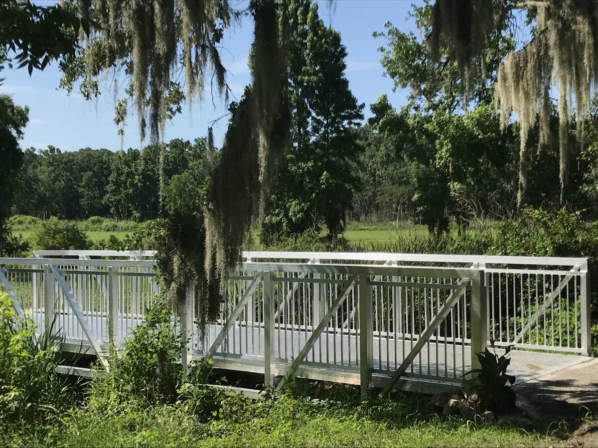 Aluminum Trail Bridge for Beaufort, South Carolina