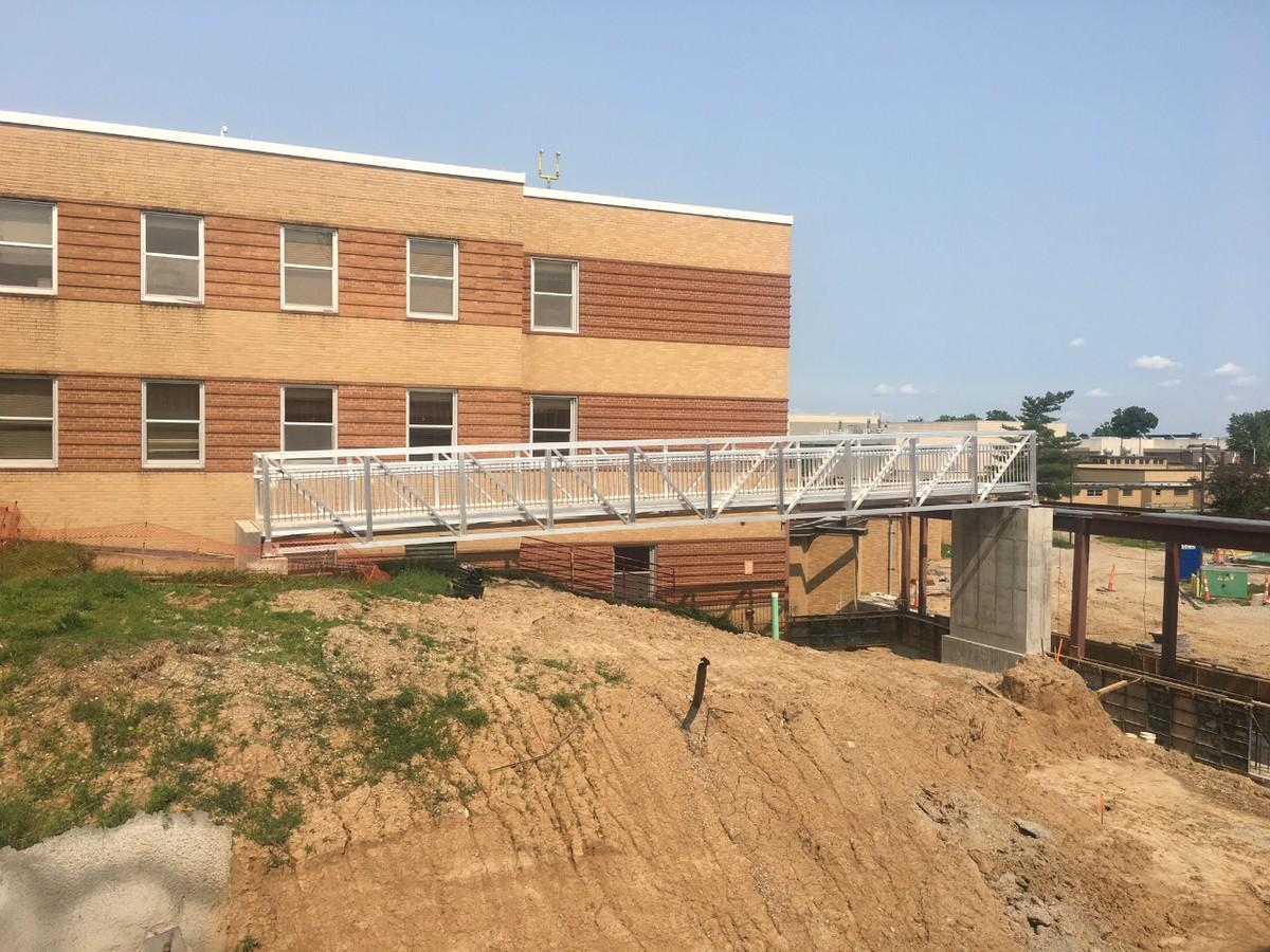 Pedestrian Footbridge for VA Barracks Saint Louis, Missouri