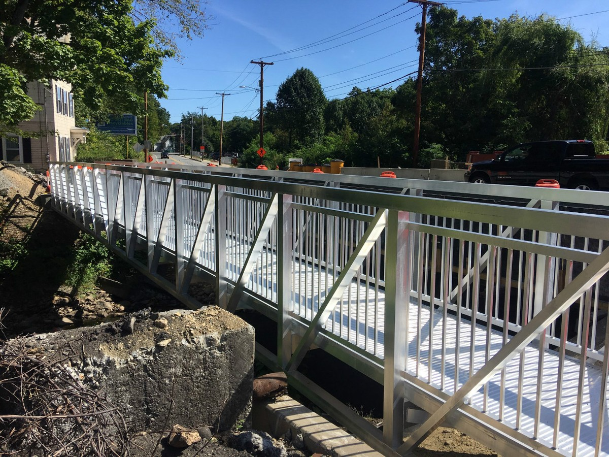 Pedestrian Bridge for Fitchsburg, Massachusetts