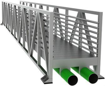 Pipe Support Bridges