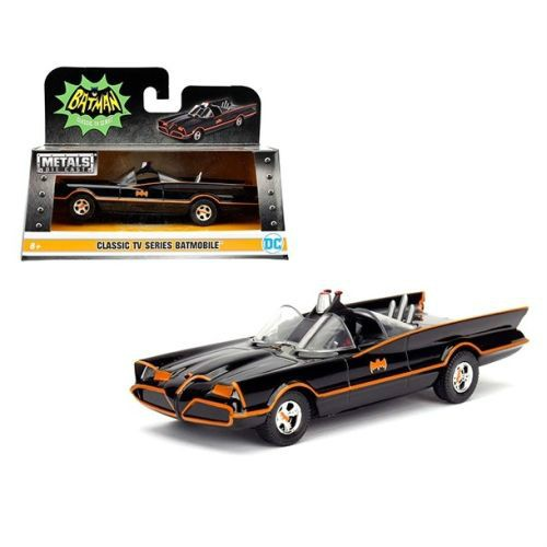Brand new 1:32 scale diecast car model of 1966 TV Series Classic Batman Batmobile.