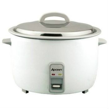 Admiral Craft's 25 cup heavy duty rice cooker. Stainless steel lid, aluminum interior. Easy to read measurements. 120V ... more.
