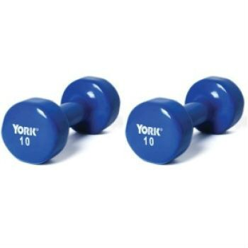 Large selection of dumb bells, weights, and weight sets for home use.
