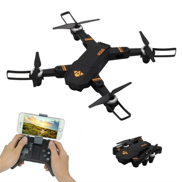 VISUO XS809 Is a Super Functional RC Drone with Outstanding Appearance and Folding Design