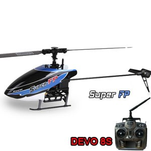 Walkera Super FP Flybarless with DEVO 8S transmitter 4-Channel 2.4GHz