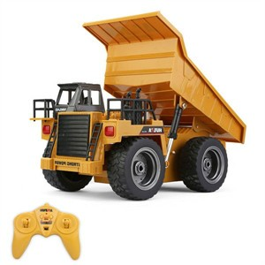 HuiNa Toys 1540 6 Channel 1/12 Metal Dump Truck Charging RC Car