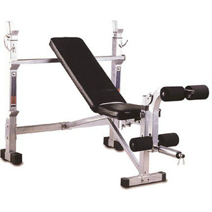 This great multi-purpose bench includes incline, decline and flat bench positions.
