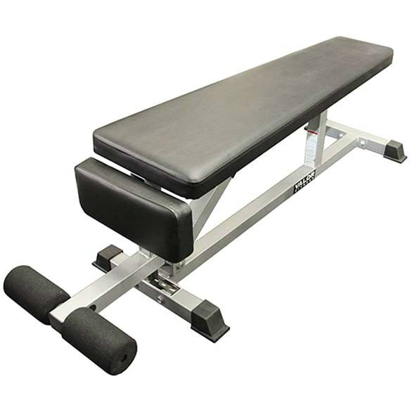 Flat Bench was built for users who workout with multiple strength equipment fitness routine.