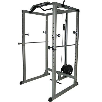 The BD-11 Valor Fitness Hard Power Rack is the perfect unit for the hard core power lifter.