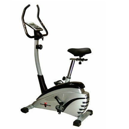 Indulge yourself with this trendy, quiet and smooth operating magnetic upright bike.