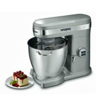 The Waring 7 Quart Stand Mixer has a large, 7-quart stainless steel bowl with carrying handles, 12 mixing speeds with soft start for precision mixing and a heavy-duty 1+ HP motor to handle the heaviest mixing tasks. Its a great Gingers Discounts Buy.