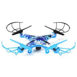 Striker Blue Digital Camo 2.4GHz 4.5CH RC Camera Drone