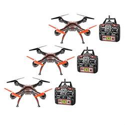 Wraith 2.4GHz 4.5CH 1080p Camera Drone Buy 2 Get 1 Free Bundle