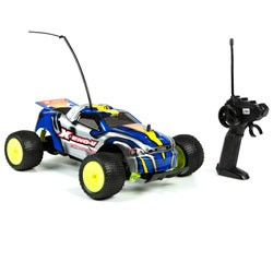 Xeno-V 1:18 RTR Blue And Yellow Electric RC Car