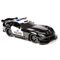 Extreme Machines Dodge SRT Viper 27MHz 1:18 RTR Electric RC Police Car