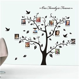 Family is Forever Tree Design Wall