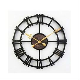 European Style Retro Roman Numerals Design Wall Clock