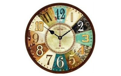 Beautiful Selection Of Wood Clocks that will look great in any house and make a great gift.