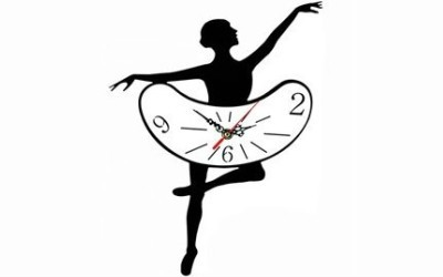 Get this elegant black creative ballet pattern wall clock from Gingers Discount Online Store. Click here.