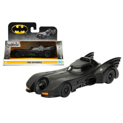 Brand new 1:32 scale diecast car model of 1989 Batman Batmobile die cast car model.