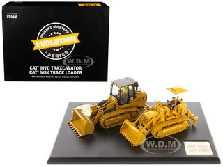 CAT Caterpillar 977D & Cat 963K