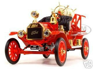 1914 Ford Model T Fire Engine Red