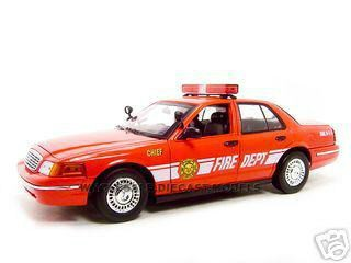 2001 Ford Fire Chief Car