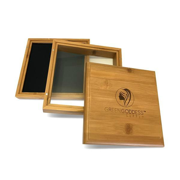 Bamboo Pollen Sifter Box