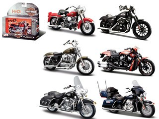 Harley Davidson - 6pc Set