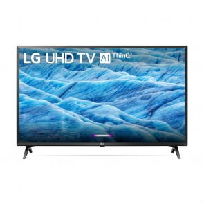 LG | 49-inch 4K Smart UHD TV w/AI ThinQ