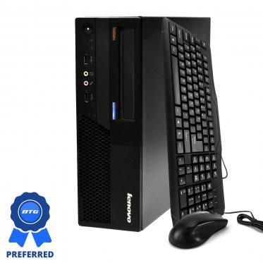 Preferred Lenovo ThinkCentre M58 Desktop: Intel C2D, 4GB Ram, 320GB, Windows 10, Keyboard & Mouse