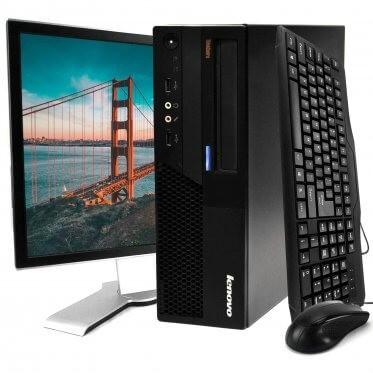 Customize a Lenovo ThinkCentre M58 Desktop Kit: Intel Core 2 Duo, 4GB Ram, 160GB, Windows 10 Home