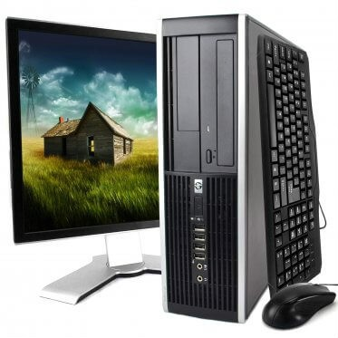 HP 8000 Elite Desktop Kit: Intel Core 2 Duo, 4GB Ram, 160GB, Windows 10 Home (Upgrades Available)