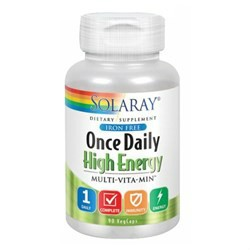 Once Daily High Energy Iron-Free