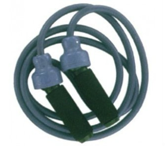 4 Pound Blue 9 Deluxe Weighted Jump Rope Ball Bearing Handle
