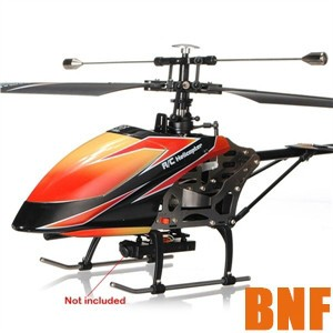 Helicopter BNF With Videography Function