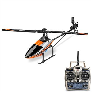 Brushless Flybarless RC Helicopter