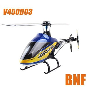 Gyro Flybarless Helicopter