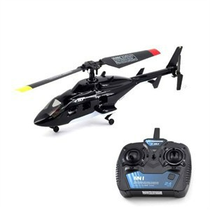 Flybarless RC Helicopter
