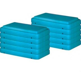 4inch Green Fitness Step