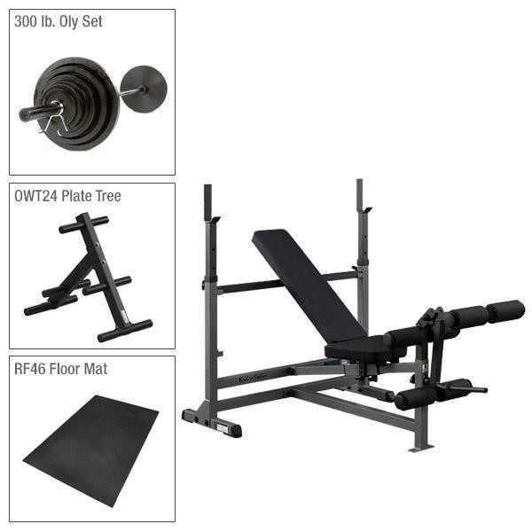 Body-Solid PowerCenter Fitness Factory Package 8