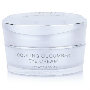Cucumber Eye Cream helps alleviate the look of dark circles around the eyes